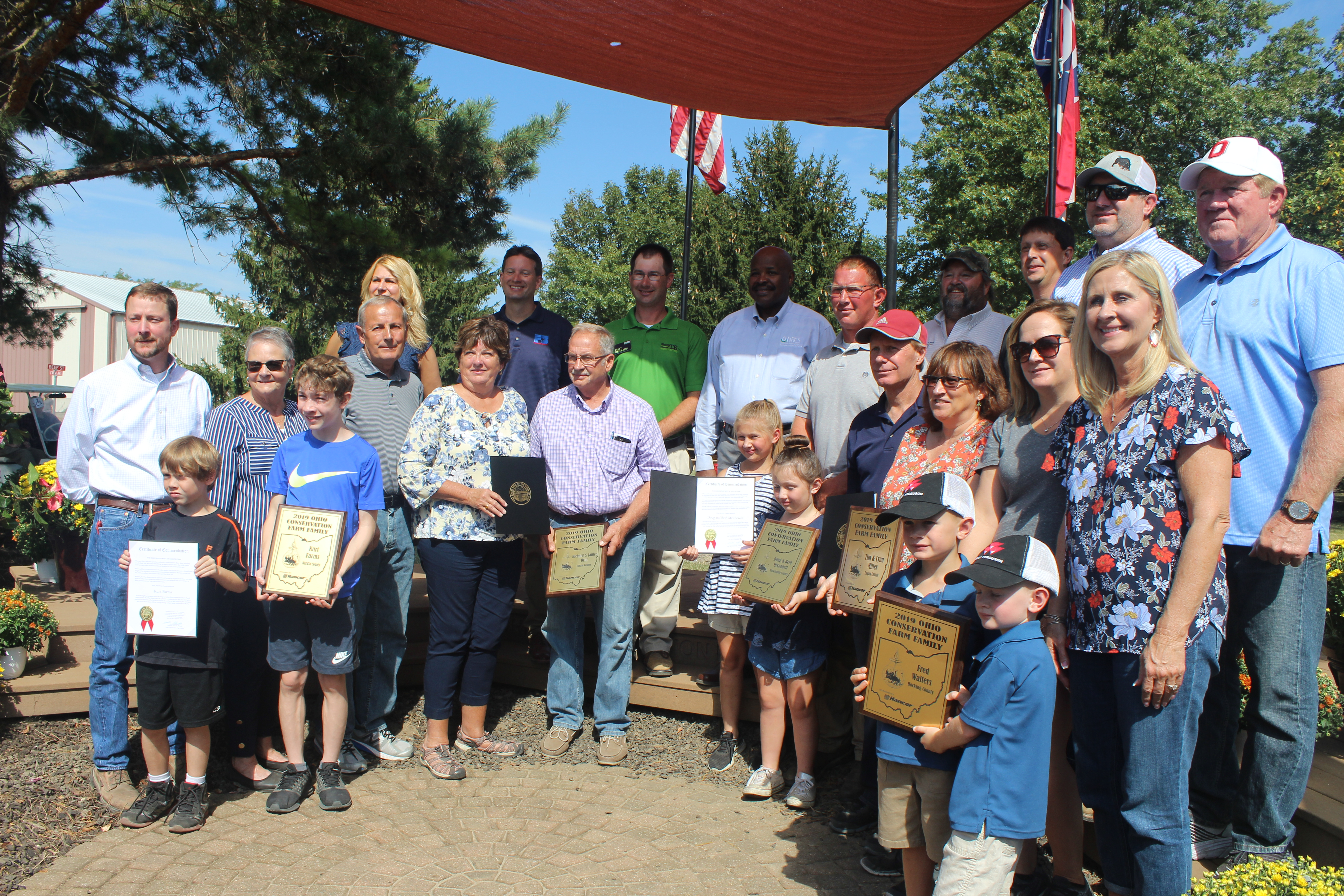 Ohio's Top Conservation Farmers Honored