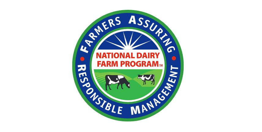 National Dairy Farm Program Logo