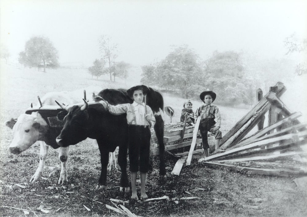 The Bargar Farm, c. 1893. Photo courtesy of M. Heavilin, Harrison County Century Farm, Est. 1834.