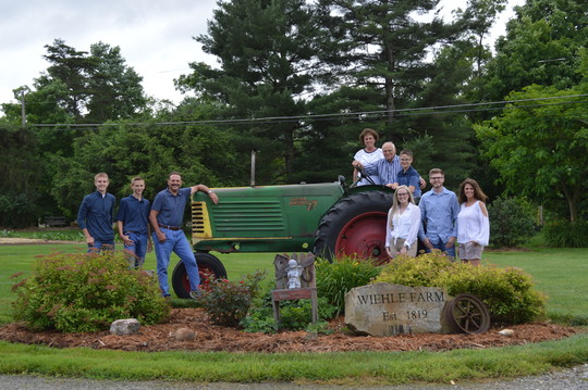 Image of Wiehle Family Recognized for Bicentennial Farm Ownership
