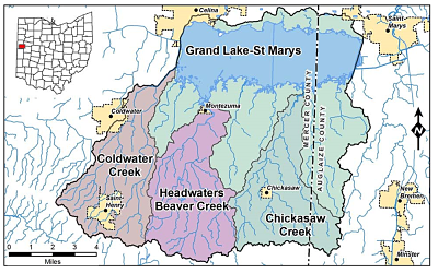 Cropped photo of the Grand Lake St. Marys Watershed