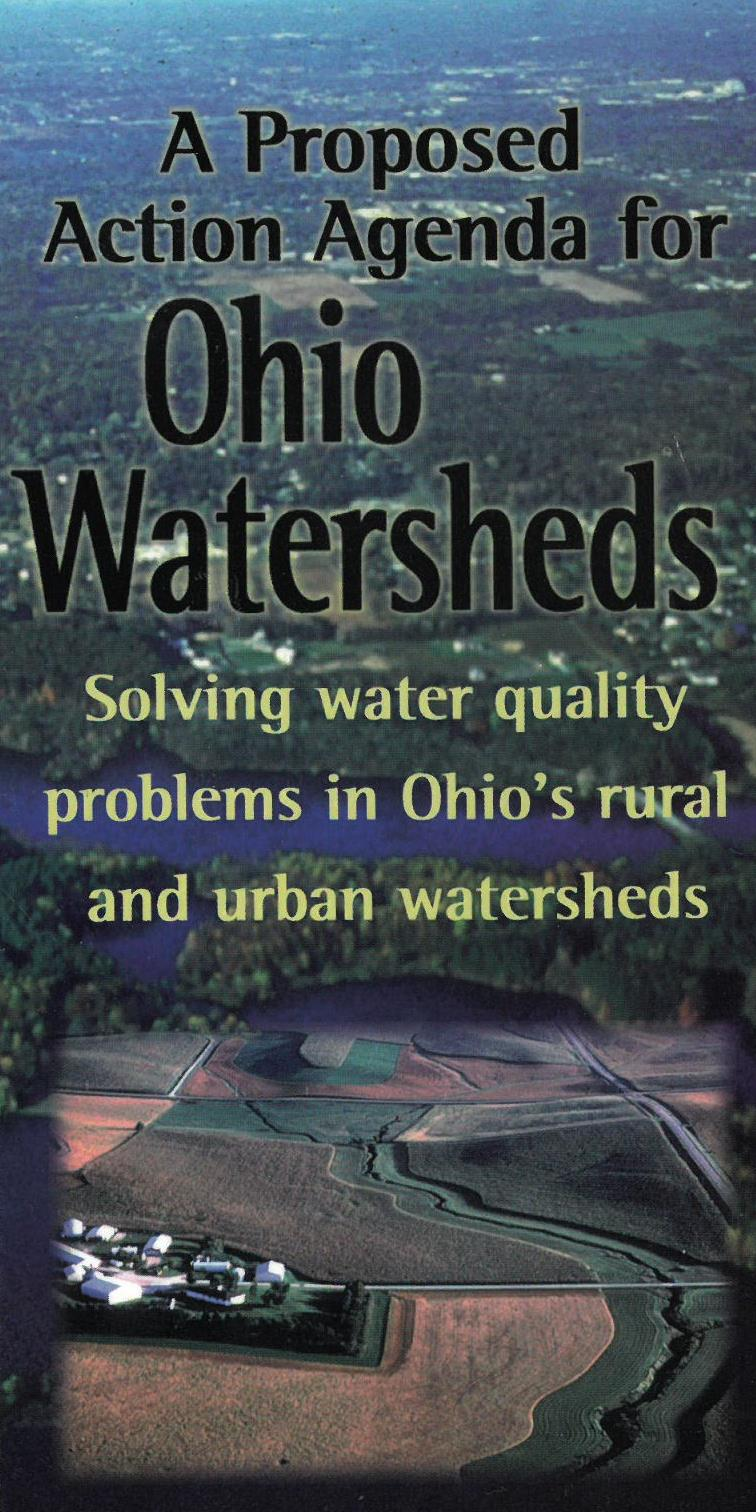 Brochure Title, A Proposed Action Agenda for Ohio Watersheds