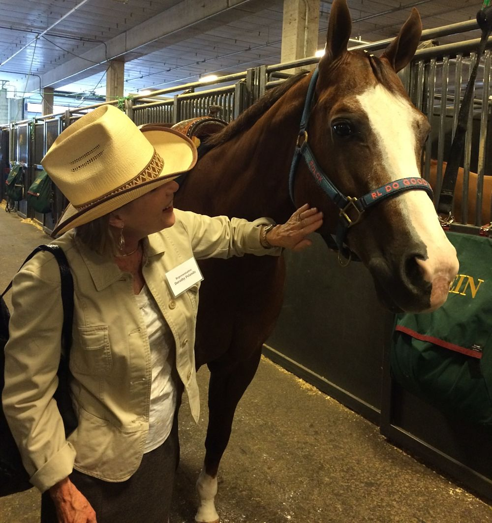 Image of Director Pelanda at Quarter Horse Congress